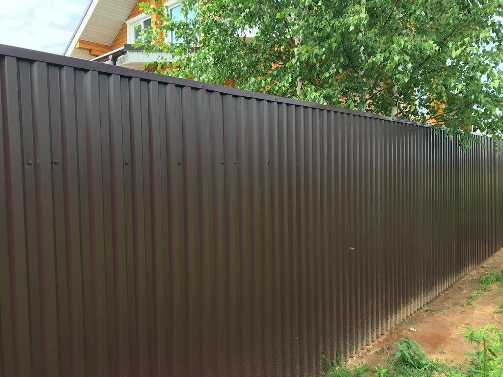 Забор в Ряжске