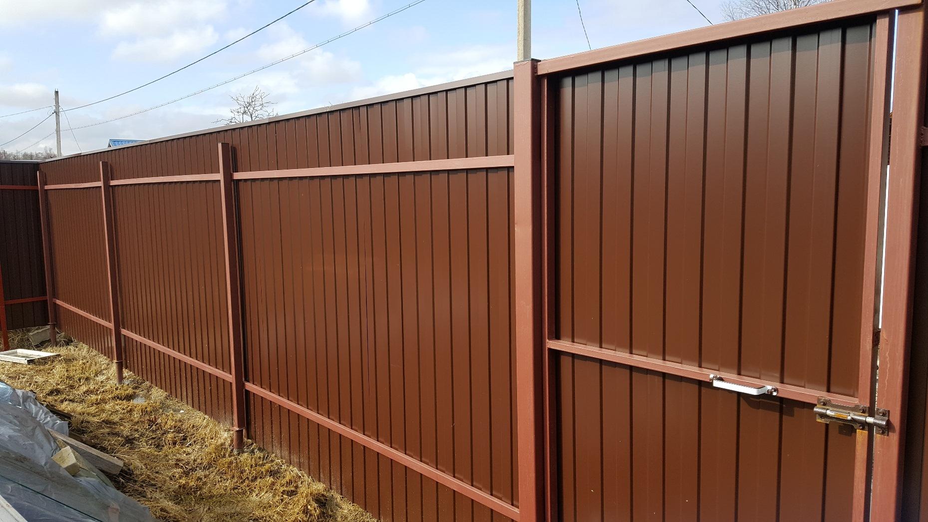Забор в Кирицах
