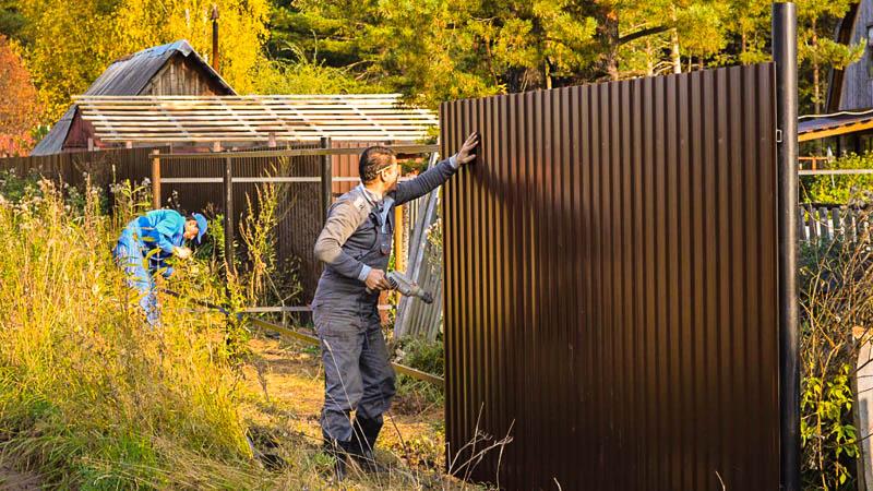 Забор в Касимове